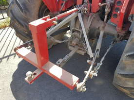 Massey Ferguson Tractor MF550 and HD Flail Mulcher - picture3' - Click to enlarge