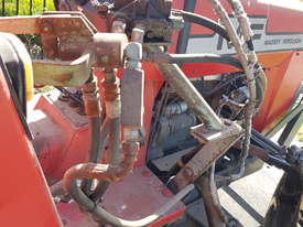 Massey Ferguson Tractor MF550 and HD Flail Mulcher - picture5' - Click to enlarge