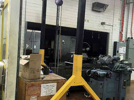Mobile Gantry with Block & Tackle - picture0' - Click to enlarge