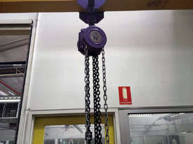 Mobile Gantry with Block & Tackle - picture1' - Click to enlarge