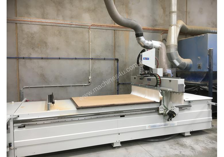 Complete Business Solution - Edgebander + CNC + Dust Extractor