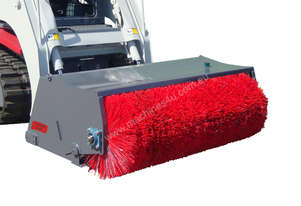 New Norm Engineering 1800mm Open Mouth Broom Attachment to suit Skid Steer