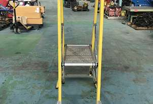 Branach Platform Ladder FPL 0.9 Meter Fiberglass Industrial Stock Picking