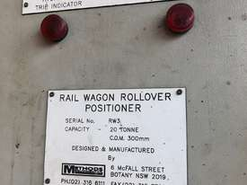 Methods 20 Ton Headstock & Tail Stock ( Rail Wagon Rollover Positioner) - picture5' - Click to enlarge