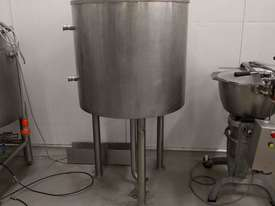 Jacketed Stainless Steel Tank 250 litre with lid - picture0' - Click to enlarge