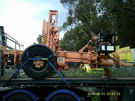 4ton cable drum trailer , hyd self loader , drum drive , diesel powered , - picture0' - Click to enlarge