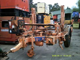 4ton cable drum trailer , hyd self loader , drum drive , diesel powered , - picture2' - Click to enlarge
