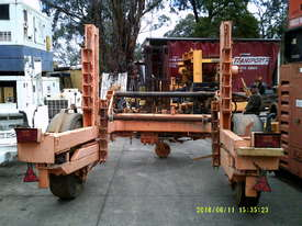 4ton cable drum trailer , hyd self loader , drum drive , diesel powered , - picture3' - Click to enlarge