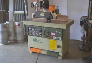 SCM Heavy duty spindle moulder