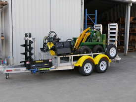 KANGA MINI LOADER BUSINESS ON A TRAILER PACKAGE 2.5T ALLOY - picture0' - Click to enlarge