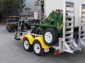 KANGA MINI LOADER BUSINESS ON A TRAILER PACKAGE 2.5T ALLOY - picture2' - Click to enlarge