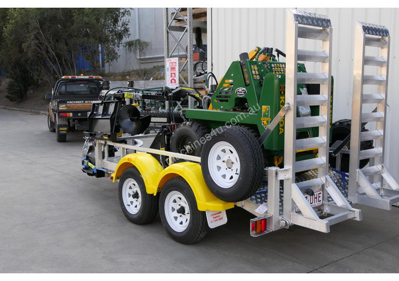 KANGA MINI LOADER BUSINESS ON A TRAILER PACKAGE 2.5T ALLOY