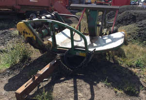 Hustler Chainless 4000 Bale Wagon/Feedout Hay/Forage Equip