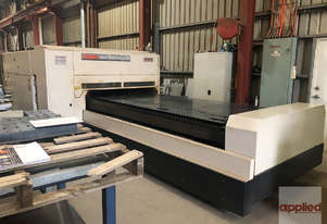 Mazak Turbo X510 Laser. Cuts up to 12mm mild steel. One owner. 2008 model in excellent condition.