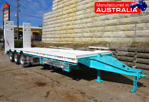 Interstate Trailers Tri Axle Tag Trailer kobelco Blue ATTTAG