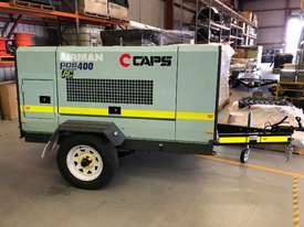 Airman Portable Diesel Air Compressor: PDS400SC-6B5-T - picture0' - Click to enlarge
