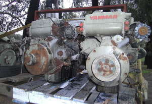 yanmar marine engine's 80hp turbo / intercooled