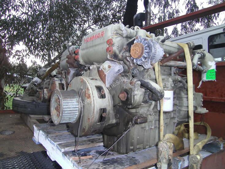 Used Yanmar 4LM-DTZ Marine Engines in Eltham, VIC