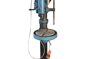 Arboga Maskiner Gear Head Pedestal Drill E380 (BLUE)