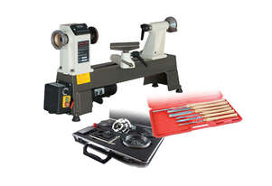 Mini Economy Woodturning Lathe Combo Kit by Oltre