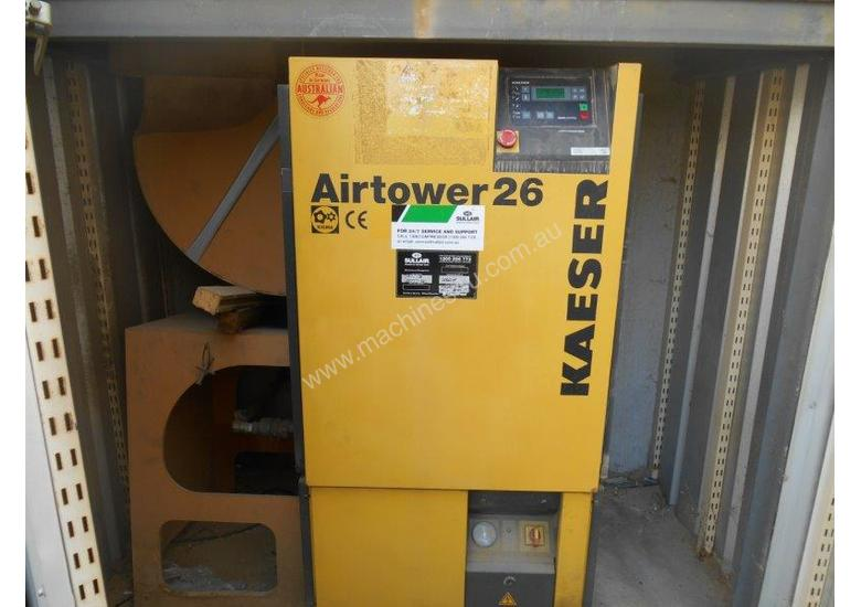 Air Compressor Kaeser Airtower 25 with Tank