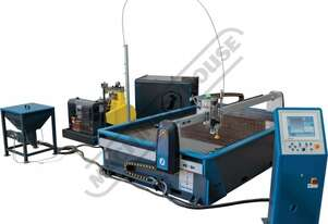 X-MW 84 CNC Waterjet Cutting System 2450 x 1250mm cutting capacity Cuts up to 100mm - (Material Depe