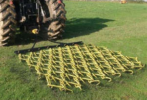 2020 HACKETT 10' RANGER CHAIN HARROWS