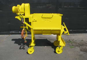 Large Yellow Industrial Mixer - 180L - Spermolin