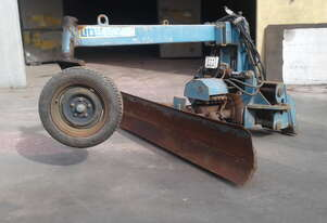 skid steer Road grader attachment