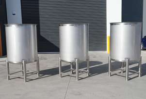 1000 Litre Stainless Steel Holding Tank