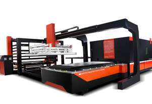 Bystronic DNE automatic materials loading and unloading system for plate cutting