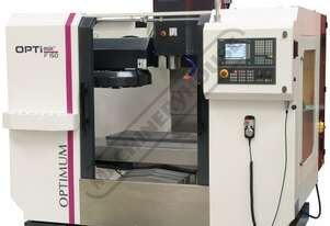 F150E OPTi-Mill Optimum CNC Milling Machine (X) 750mm (Y) 500mm (Z) 500mm