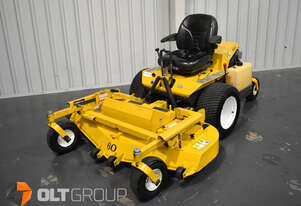 Walker MBSSD Zero Turn Mower 27hp Petrol Engine 60 Inch Side Discharge Deck 781 Hours