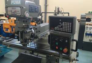 PUMA X6325B 3PHASE - 3 AXIS DRO VERTICAL MILL