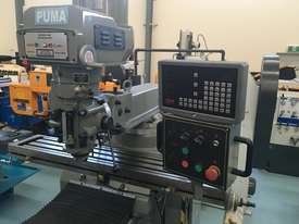 PUMA X6325B 3PHASE - 3 AXIS DRO VERTICAL MILL - picture0' - Click to enlarge