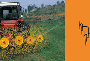 Sitrex RP4 Mounted Side Delivery Rake