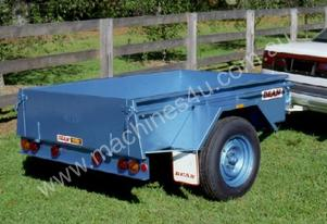 Single Axle Box Trailer No.12B 1.8m x 1.2m (6x4)