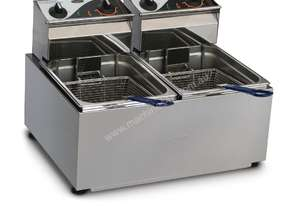 Roband Double Pan Fryer 2 x 8Ltr F28