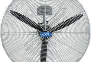 WF-75 Industrial Wall Mount Fan - 750mm 90º Oscil