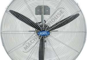 WF-75 Industrial Wall Mount Fan - 750mm 90º Oscillating & 30º Tilting Head 290 cubic M/min Air Flo