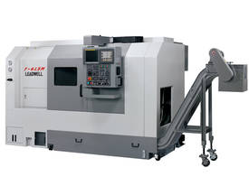 LEADWELL T-6L & LSM SLANT BED CNC LATHE - picture0' - Click to enlarge