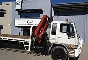Hiab/crane trucks for hire cheap rates in sydney