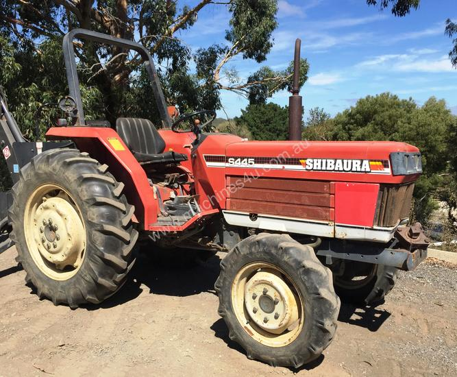 Used shibaura S445 4WD Tractors 0-79hp in , - Listed on