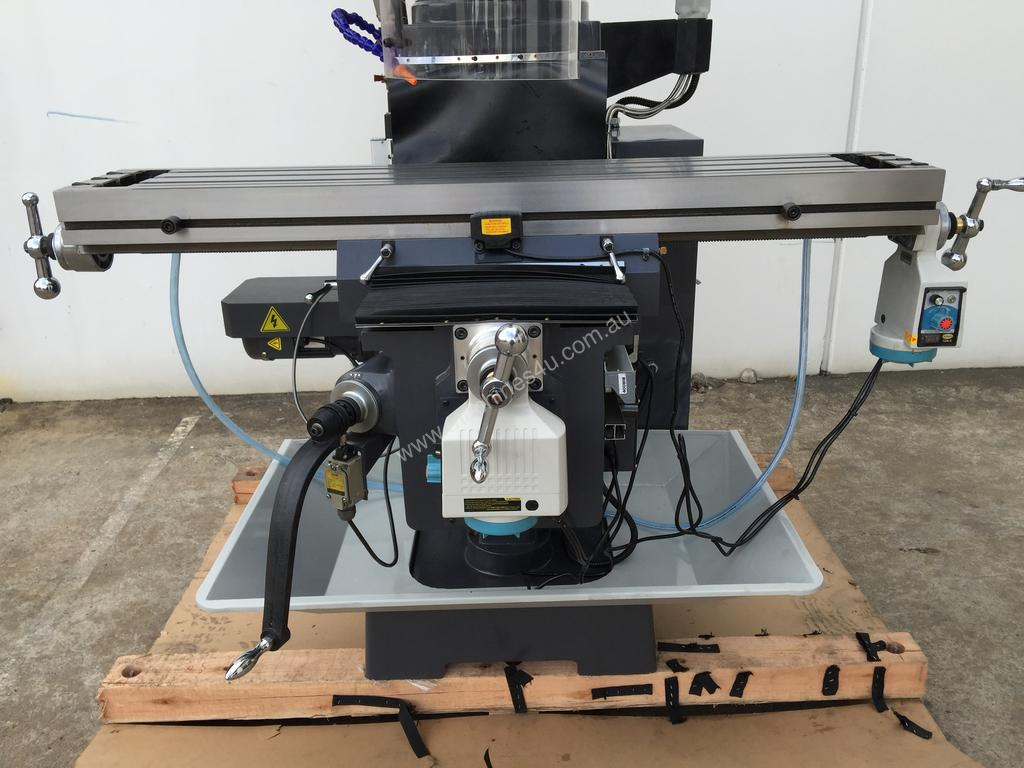 New 2019 steelmaster Quality SM-KD4VS Turret Mill With Power Draw Bar  Universal Mills in DANDENONG SOUTH, VIC Price: $14,250 <235718>