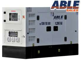 12 kVA 240V Diesel Generator - picture0' - Click to enlarge