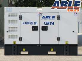 12 kVA 240V Diesel Generator - picture6' - Click to enlarge