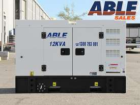 12 kVA 240V Diesel Generator - picture13' - Click to enlarge