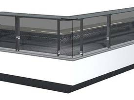 INTERNAL CORNER SQ BUTCHER/DELI DISPLAY GLTVZSQ90
