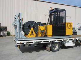 3 DRUM 1 TONNE OVERHEAD RECOVERY WINCH