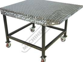 FW1530 CertiFlat FabWing 150 x 300mm Tab & Slot U-Weld - picture5' - Click to enlarge